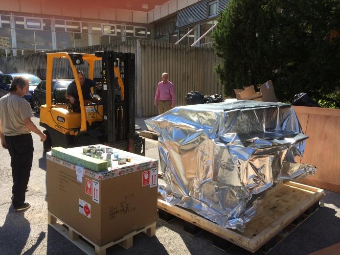 Arrival of MALDI-7090 instrument to Marseille